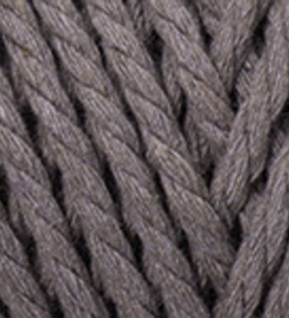 Macrame Rope 5mm - חום בהיר - חום בהיר