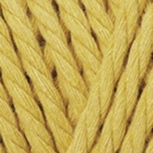 Macrame Rope 5mm - חרדל צהוב