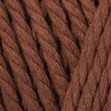 Macrame Rope 5mm - חום חמרה אדום